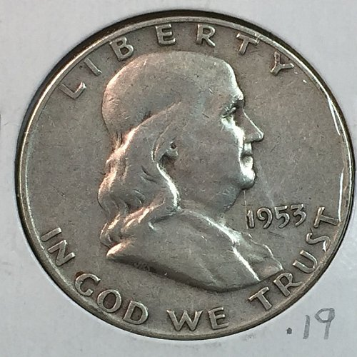1953-D Franklin Half Dollar (40156)