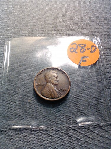 1928-D WHEAT CENT
