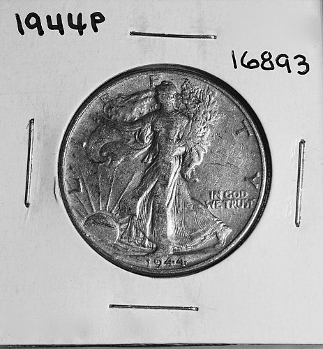1944 P WALKING LIBERTY HALF DOLLAR #16893