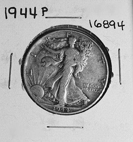 1944 P WALKING LIBERTY HALF DOLLAR #16894