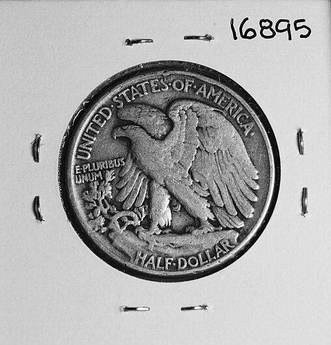 1945 P WALKING LIBERTY HALF DOLLAR #16895