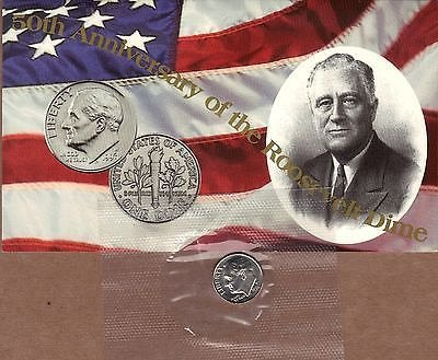 1996-W Roosevelt Dime. Key dime in series.