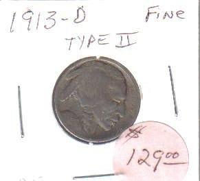 1913 D  BUFFALO NICKEL