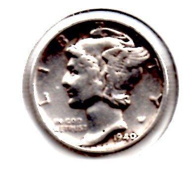1940d Mercury Dime
