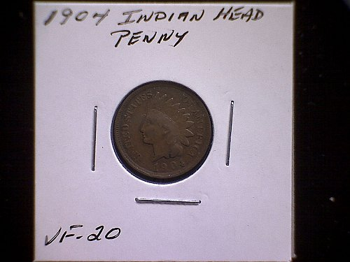 1904-P INDIAN HEAD CENT