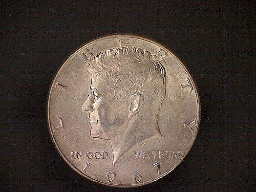 1967-P KENNEDY HALF DOLLAR