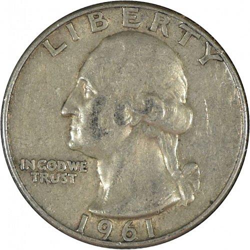 1961 D Washington Quarter, (Item 349)