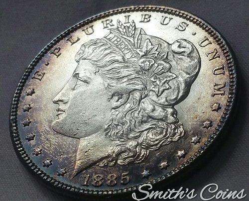 1885 Morgan Dollar ~ BU