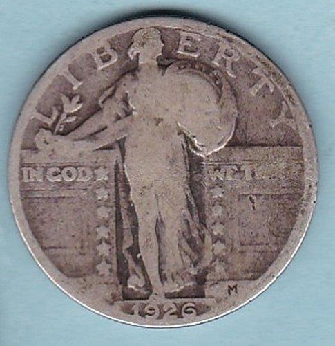 1926 Standing Liberty Quarter  25C