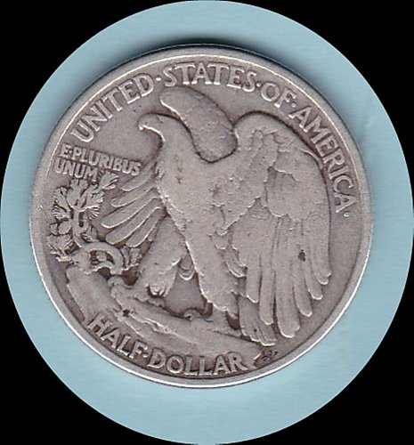 1942 WALKING LIBERTY HALF DOLLAR  50C     (217)