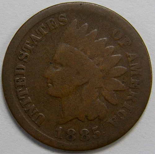 1885 P Indian Head Cent #5