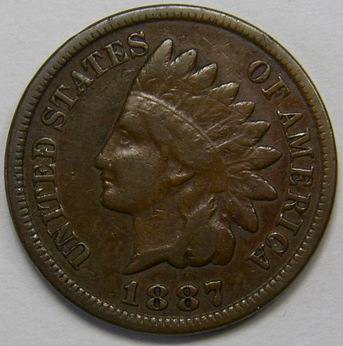 1887 P Indian Head Cent #6
