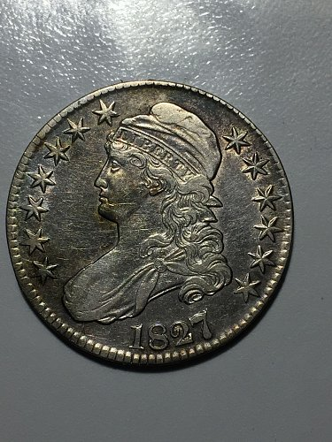 1827/6 Capped Bust Half Dollar 50C