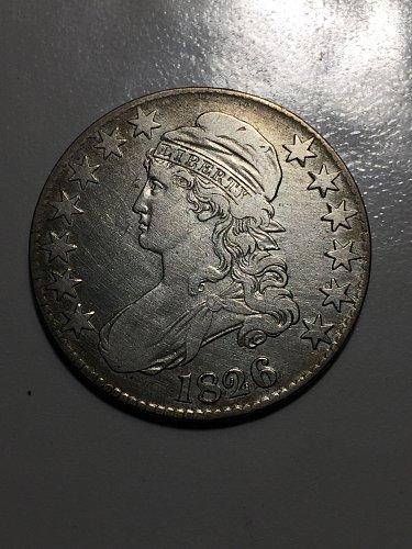 1826 Capped Bust Half Dollar