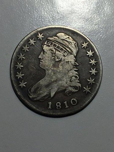 1810 Capped Bust Half Dollar
