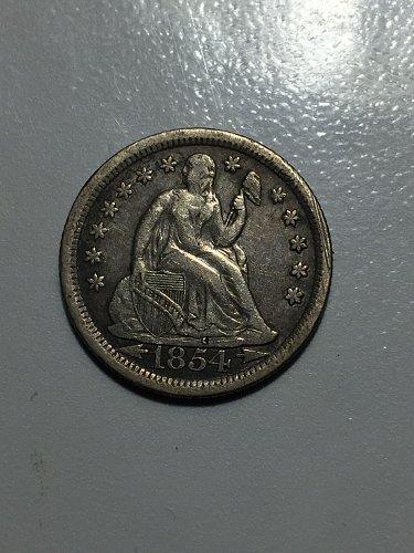 1854 O Seated Liberty Dime