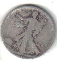1918 S   WALKER HALF DOLLAR