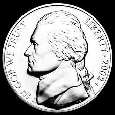 2002  S  PROOF  JEFFERSON NICKEL