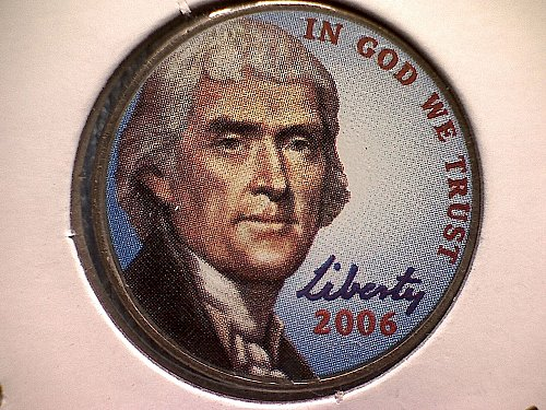 "2006-D JEFFERSON NICKEL  ""COLORIZED"""