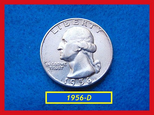 "1956-D  ""VF-20"" Washington Quarter ••• (#2469)"