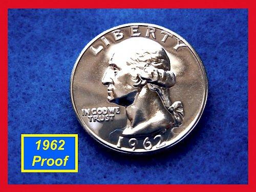 1962-P  Proof Washington Quarter ••• (#2477)