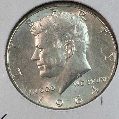 1964-P Kennedy Half Dollar (40160)
