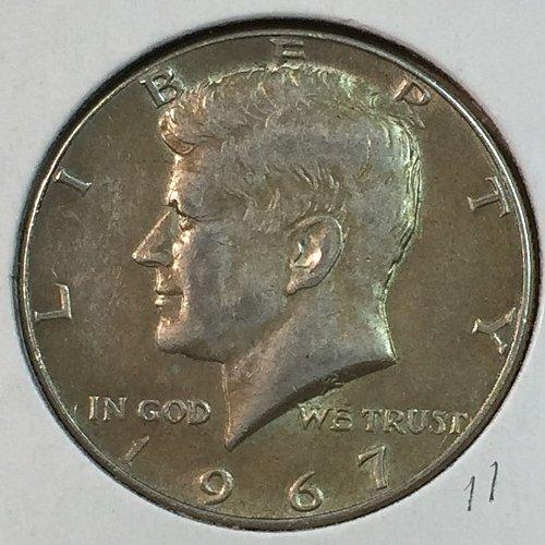 1967-P Kennedy Half Dollar (40179)