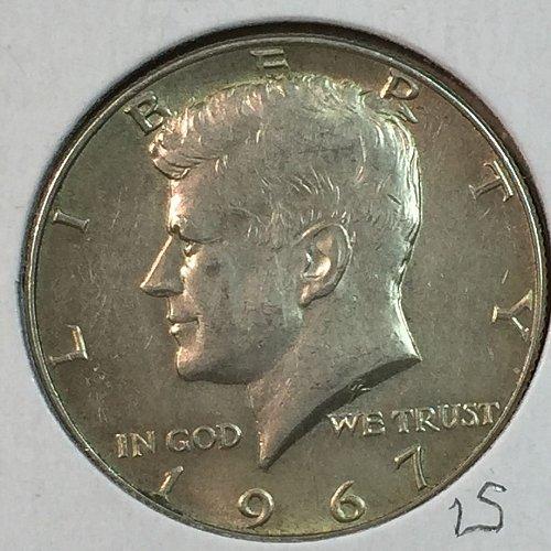 1967-P Kennedy Half Dollar (40184)