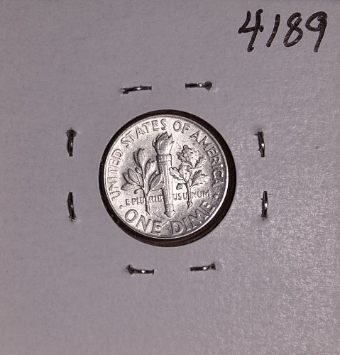 1964 P ROOSEVELT DIME #4189