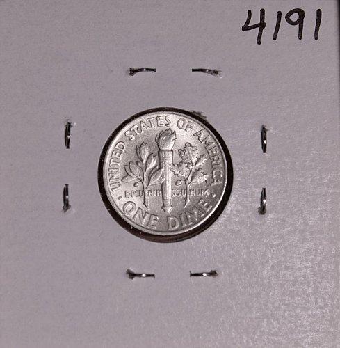1964 P ROOSEVELT DIME #4191