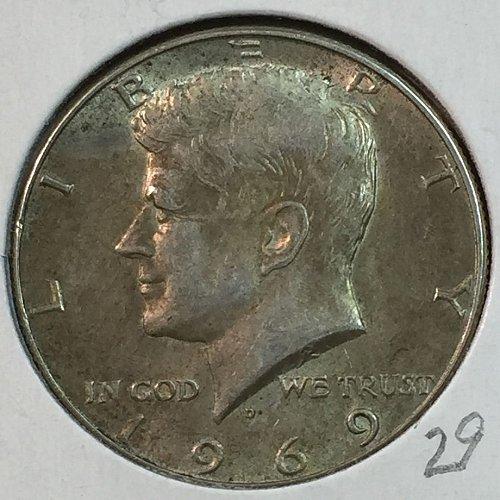 1969-D Kennedy Half Dollar (40199)