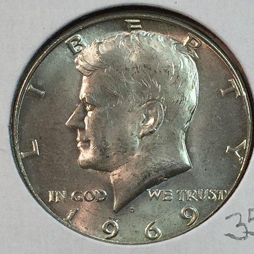 1969-D Kennedy Half Dollar (40207)