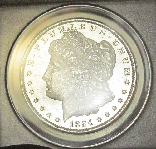 1884 O Morgan Dollar - MS-62 - ANACS Graded