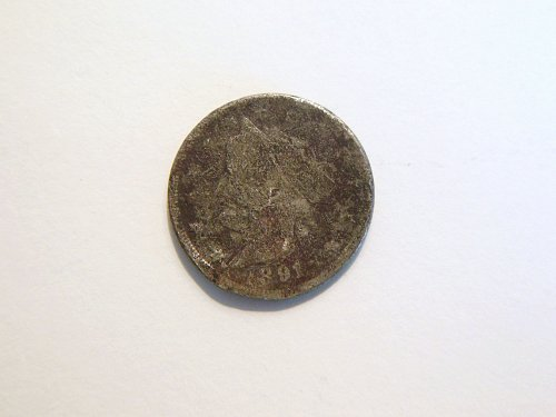 1891 Liberty V Nickel