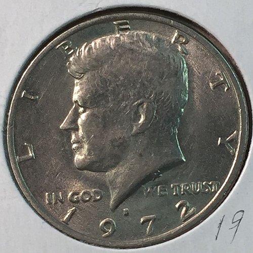 1972-D Kennedy Half Dollar (40225)