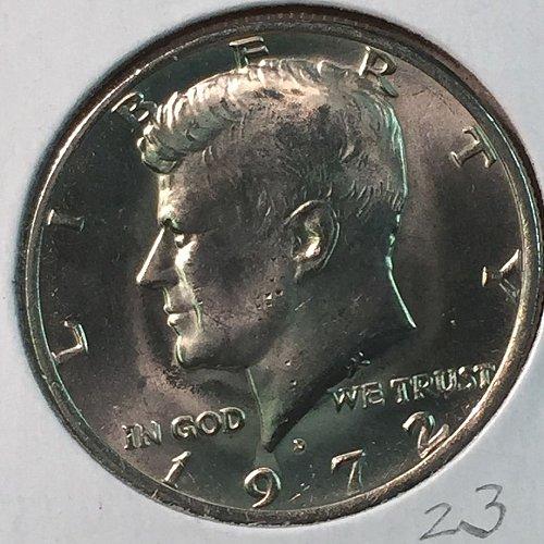 1972-D Kennedy Half Dollar (40233)