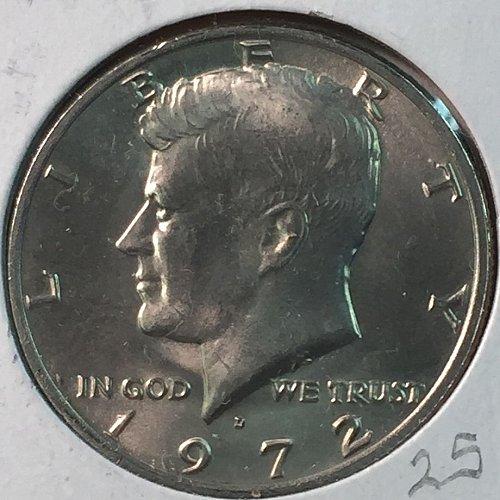 1972-D Kennedy Half Dollar (10030)