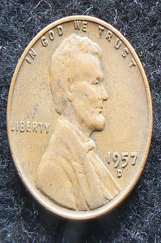 1957 D Lincoln Wheat Cent (F-12)