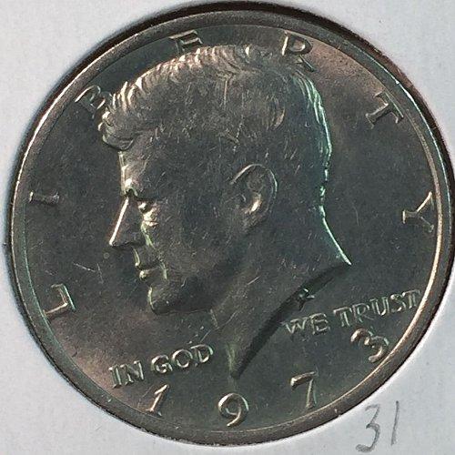 1973-P Kennedy Half Dollar (40236)