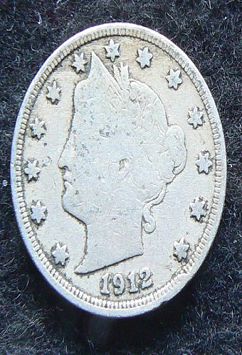 1912 P Liberty Nickel (F-12)
