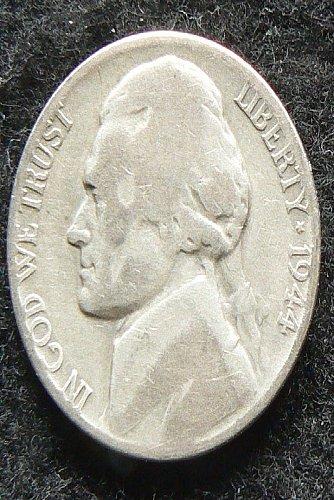 1944 P Jefferson Nickel (G-4)