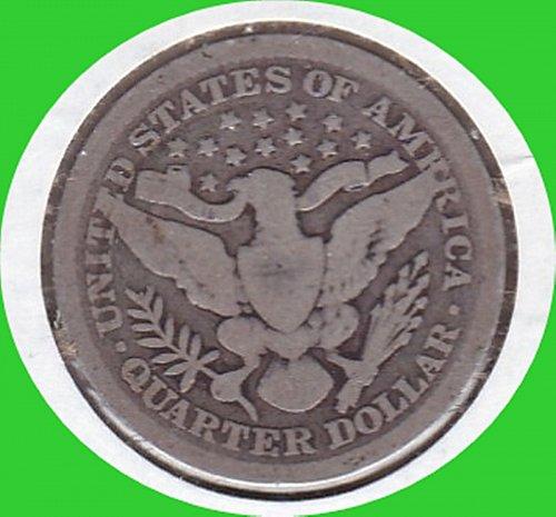 1899 Barber Quarter Dollar  *********************(#456)