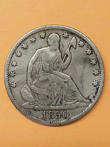 1850-O Seated Liberty Half Dollar