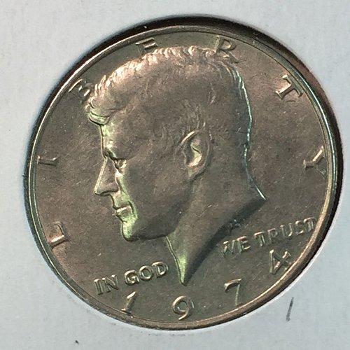 1974-P Kennedy Half Dollar (40250)