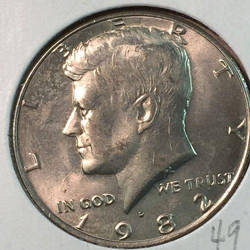 1982-D Kennedy Half Dollar (40331)