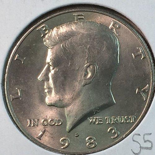1983-D Kennedy Half Dollar (40335)