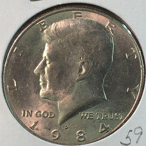 1984-D Kennedy Half Dollar (40340)