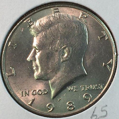 1989-P Kennedy Half Dollar (40342)