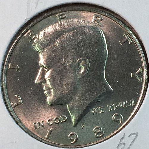 1989-P Kennedy Half Dollar (40344)