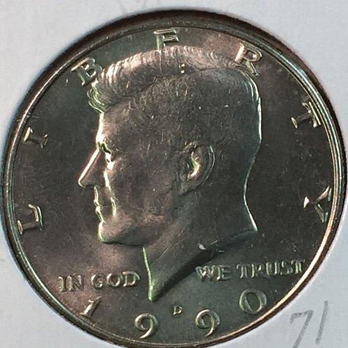1990-D Kennedy Half Dollar (40348)